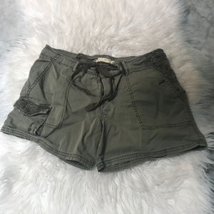 "Hei Hei Anthropologie Green ""Cargo"" Shorts"